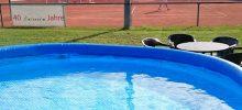 Benutzung Swimmingpool auf unserer Tennisanlage