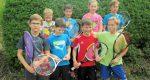 """Optimaler Saisonstart für unsere """"Jungen Wilden"""" (U10 Talentiade Kleinfeldtennis)"""