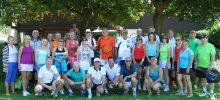 Erfolgreiche Russische Tennis-Mixed Mannschaft beim Dreiländer Turnier