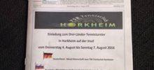 TSB Tennisclub Horkheim – vor ab Info von Drei-Länder Turnier